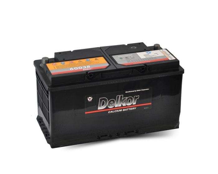 Купить аккумулятор Delkor 60038 100 Ач в Воронеже