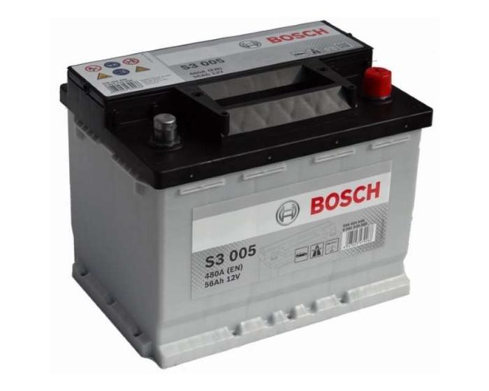 Купить аккумулятор в Воронеже Bosch S3 005 56 А/ч о.п.