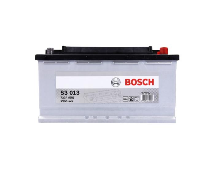 Купить аккумулятор в Воронеже Bosch S3 013 90 А/ч о.п.