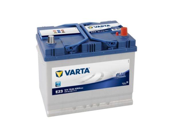 Аккумулятор Varta E23 70 А/ч азиатский тип в Воронеже
