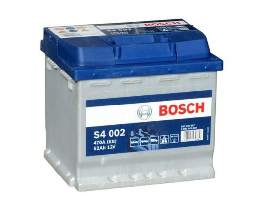 Купить аккумулятор в Воронеже Bosch S4 002 52 А/ч о.п.
