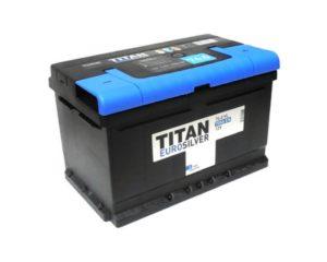 Аккумулятор Titan Eurosiler 74 А/ч низкий Воронеж
