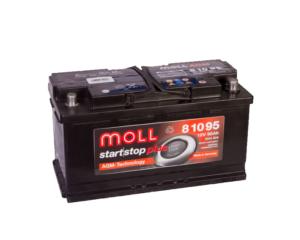 Купить аккумулятор Moll AGM Start-Stop 95 А/ч