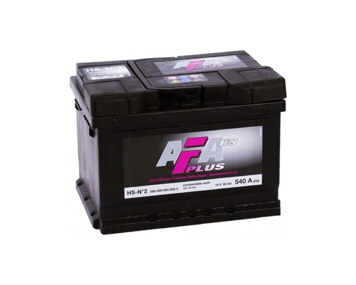 Купить аккумулятор AFA 60 А/ч низкий в Воронеже