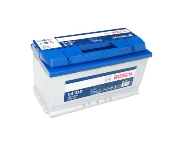 Купить аккумулятор для автомобиля в Воронеже Bosch S4 013 95 А/ч о.п.
