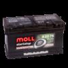Купить гелевый аккумулятор Moll 75 А/ч в Воронеже