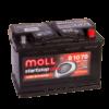 Купить гелевый аккумулятор MOLL AGM Start-Stop 70 А/ч в Воронеже