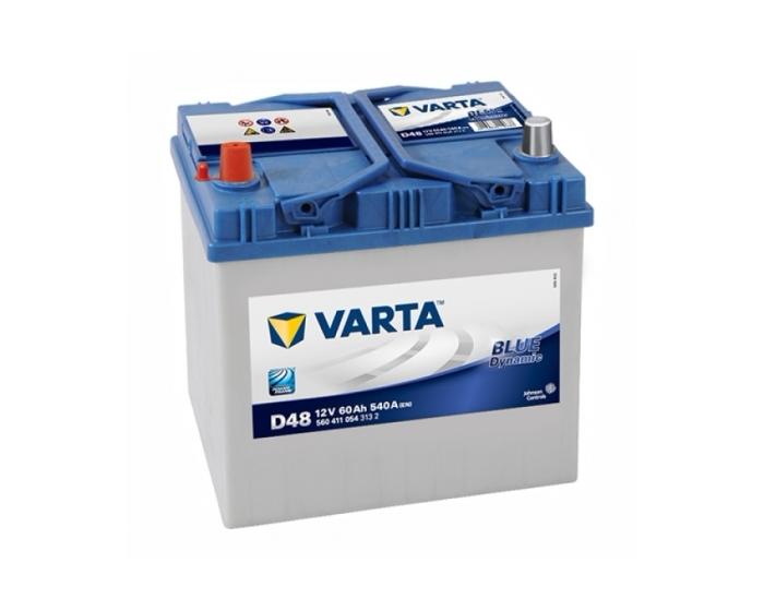Купить аккумулятор Varta 60 прямая полярность японские клеммы в Воронеже