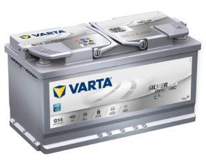 Купить аккумулятор в Воронеже Varta Silver G14 Start-Stop AGM 95 А/ч о.п.