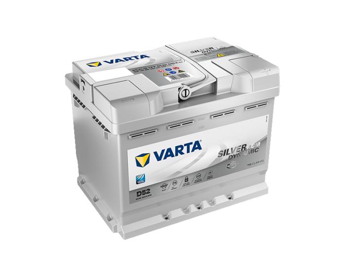 Купить аккумулятор в Воронеже Varta Silver D52 Start-Stop AGM 60 А/ч о.п.