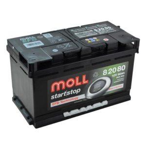 Купить гелевый аккумулятор Moll 80 А/ч в Воронеже
