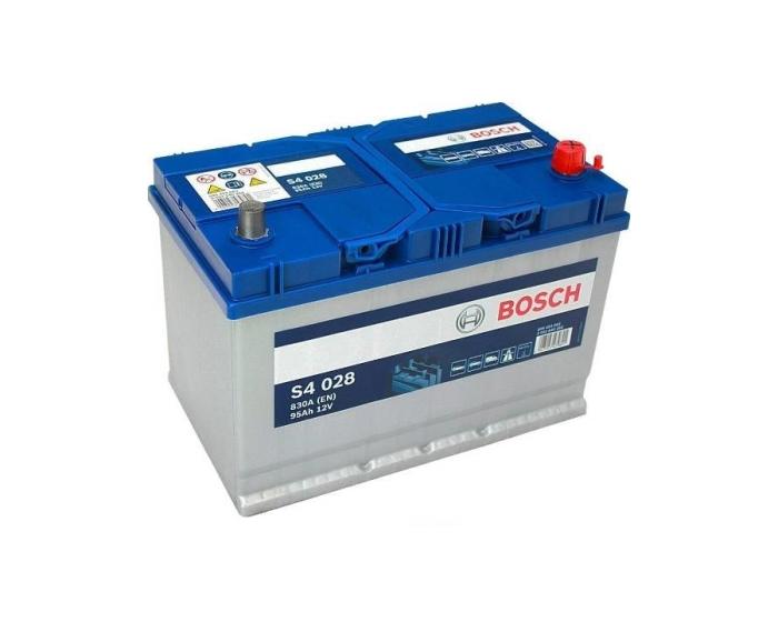 АКБ Bosch S4 028 95 А/ч о.п. японские клеммы купить в Воронеже