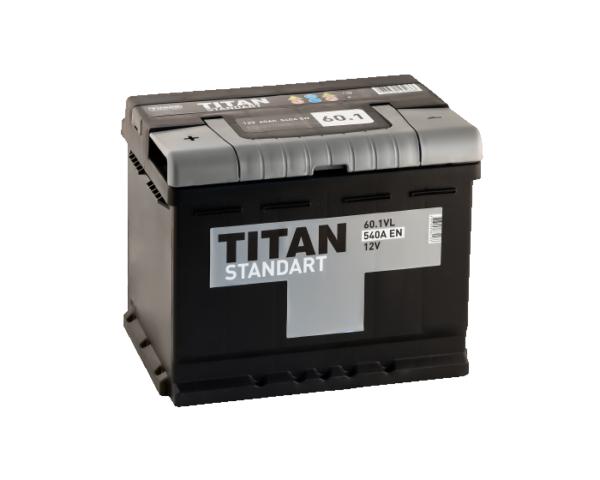 Купить аккумулятор Titan Standart 60 Ач прямой полярности в Воронеже