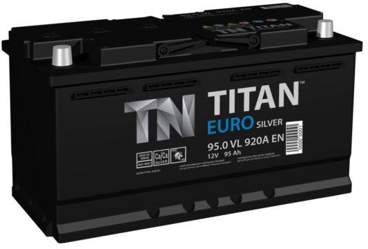 Купить аккумулятор Titan Euro Silver 95 А/ч в Воронеже