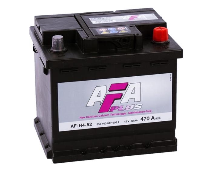 Аккумулятор 52 А/ч в Воронеже AFA Plus