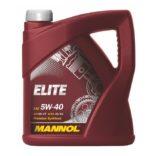 Моторное масло в Воронеже MANNOL Elite 5W40 синтетика 4 л. купить