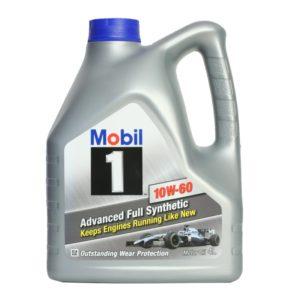 Купить в Воронеже Mobil 1 10W60 4 л. моторное масло синтетика