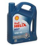 Купить в Воронеже SHELL Helix HX7 10W40 полусинтетика 4 л. моторное масло
