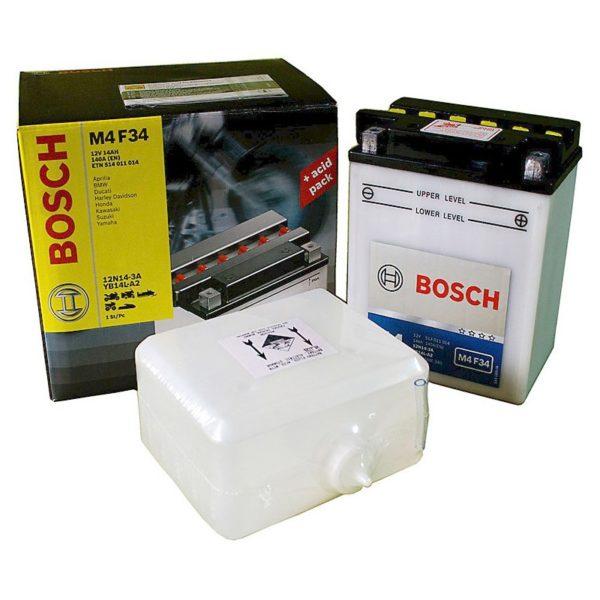 Купить аккумулятор для мотоцикла Bosch 0092M4F340 в Воронеже