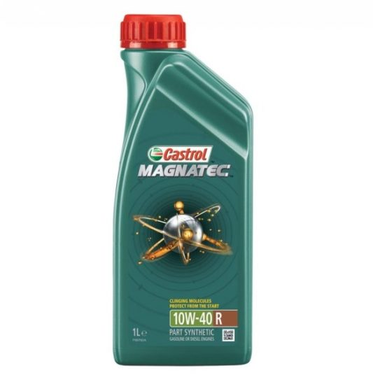 Моторное масло полусинтетика Castrol Magnatec R 10W40 1 л купить в Воронеже