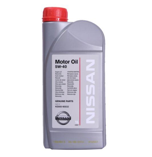 Купить оригинальное моторное масло Nissan 5W40 1 л в Воронеже