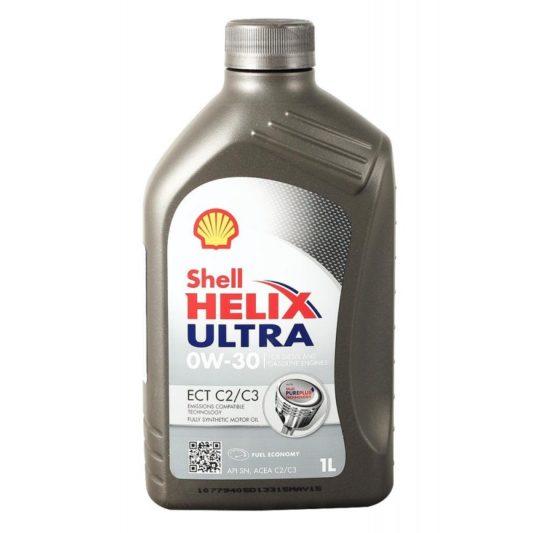 Купить SHELL Helix Ultra ECT 0W30 1л моторное масло в Воронеже