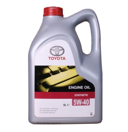 Купить Toyota 5W40 оригинальное масло в Воронеже