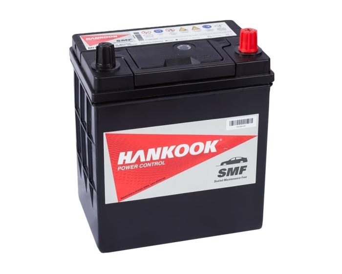 Купить в Воронеже аккумулятор Hankook 46B19FL 40 А/ч о.п. аз. тип с борт.