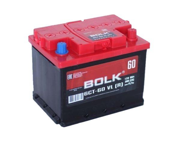 Купить аккумулятор Bolk 60 Ач обратный в Воронеже