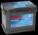 Купить аккумулятор Tudor AGM TK600 60 А/ч для Start-Stop в Воронеже