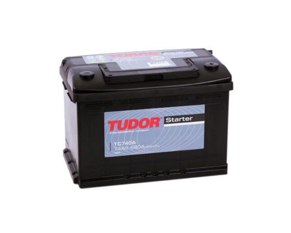 АКБ купить в Воронеже Tudor Starter TC740 74 А/ч обратная полярность