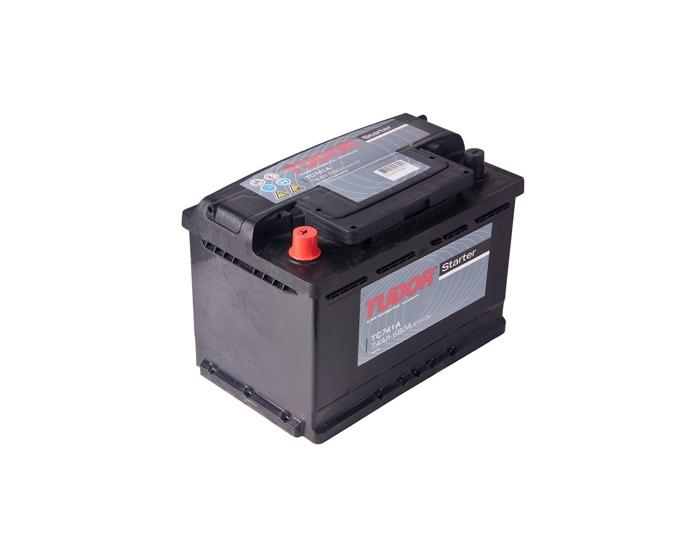 Купить авто аккумулятор Tudor Starter TC741 74 А/ч прямая полярность
