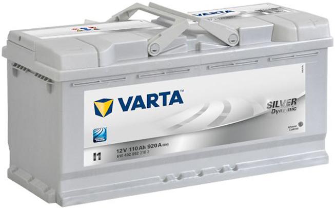 Купить аккумулятор для автомобиля Varta Silver Dynamic I1 110 А/ч в Воронеже