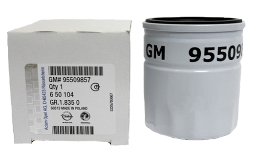 Купить масляный фильтр General Motors 95509857 в Воронеже