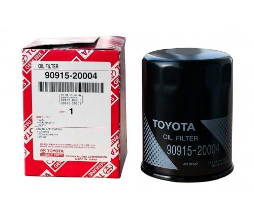 Купить фильтр для масла автомобильный Toyota 90915-20004 в Воронеже