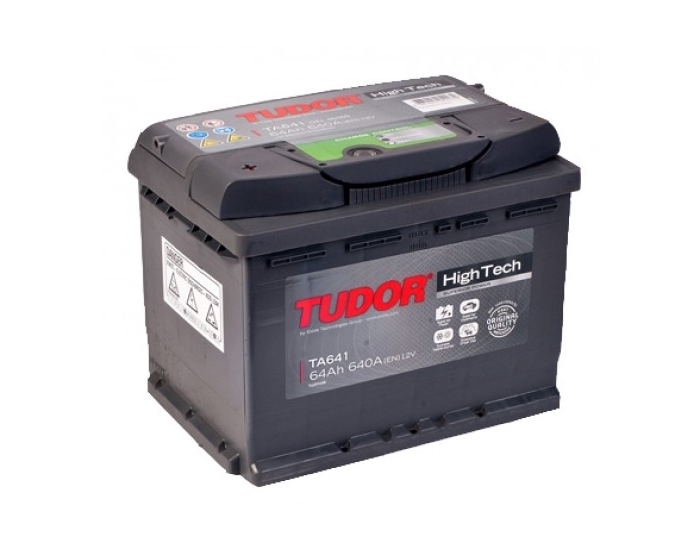 Купить аккумулятор с повышенным пусковым током в Воронеже Tudor High-Tech TA641 64 А/ч