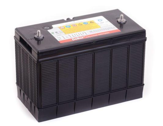 Купить аккумулятор для Фредлайнер Delkor 31-1000T 100 А/ч ун.п. амер. клеммы в Воронеже
