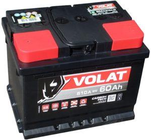 Купить аккумулятор Volat 60 А/ч прямая полярность в Воронеже