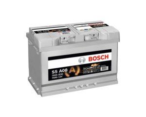 Купить аккумулятор Start-Stop в Воронеже Bosch AGM S5 A08 70 А/ч