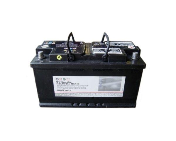 Купить оригинальный аккумулятор в Воронеже VAG 000915105CE AGM Start-Stop 92 А/ч