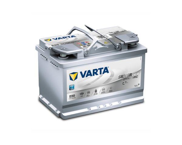 Купить аккумулятор для Старт-Стоп в Воронеже Varta Silver Dynamic AGM E39 70 А/ч