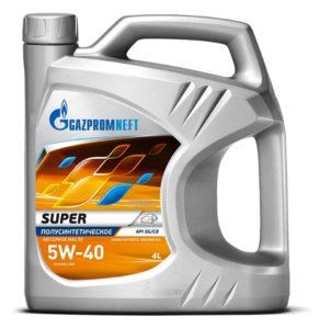 Купить Gazpromneft Super 5W40 4 л. в Воронеже