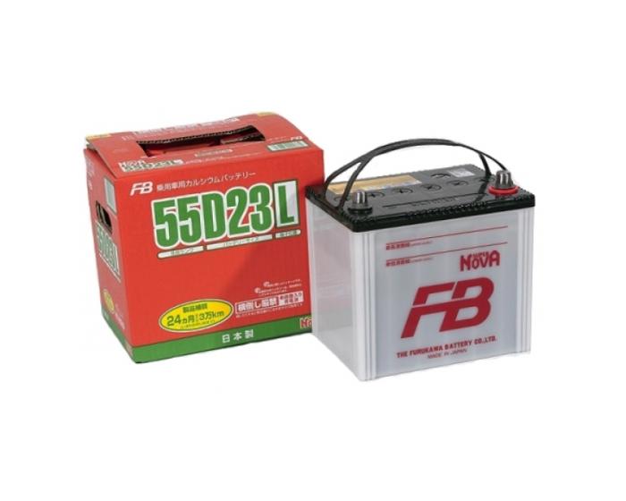 Купить японский аккумулятор в Воронеже Furukawa 55D23L 60 А/ч