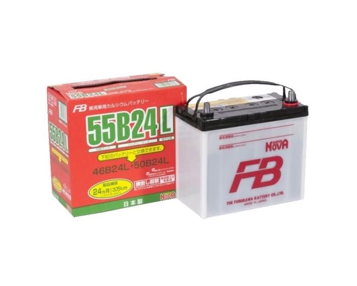 Купить японский аккумулятор FURUKAWA 55B24L в Воронеже