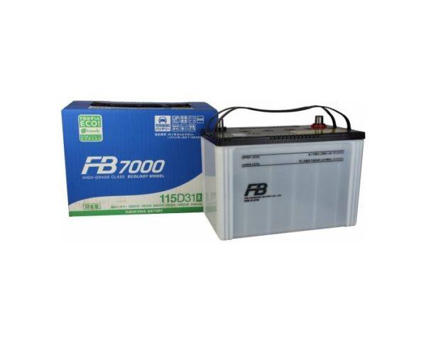 Купить японский аккумулятор Furukawa FB7000 115D31R в Воронеже
