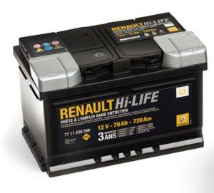 Купить оригинальный аккумулятор Renault 7711238598 в Воронеже