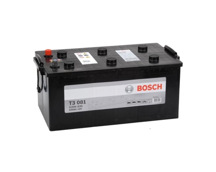 Купить грузовой аккумулятор в Воронеже BOSCH T3 081 220 А/ч евро