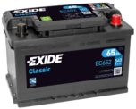 Exide Classic EC652 65 А/ч для Форд купить в Воронеже