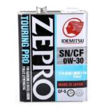 Японское масло Idemitsu ZEPRO TOURING PRO SN/CF 0W30 4 л. купить в Воронеже