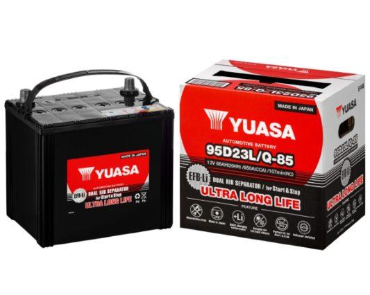 Аккумулятор GS Yuasa Q-85 Mazda CX-5 Start-Stop EFB (95D23L) 66 А/ч в Воронеже купить